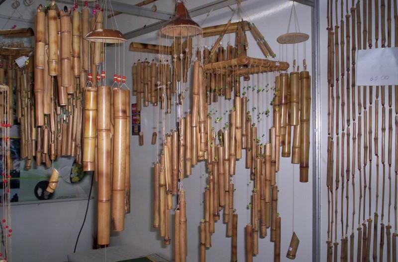 artesanato de bambu para jardim:Sindicato Rural de Maringá – Artesanato em Bambu